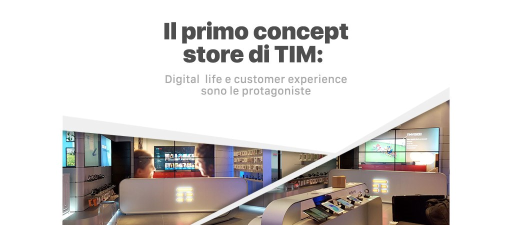 concept store 4G Retail TIM