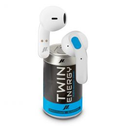 Auricolari Twin TWS wireless stereo con controlli touch - Blu,Bianco SBS