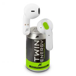 Auricolari Twin TWS wireless stereo con controlli touch - Verde ,Bianco SBS