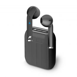 Auricolari Wireless Twin True - Nero SBS