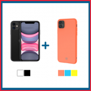 Apple iPhone 11 64GB + Cover iPhone 11 - CANDY