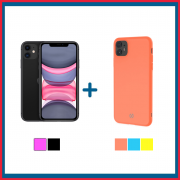 Apple iPhone 11 128GB + Cover iPhone 11 - CANDY
