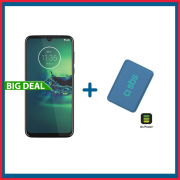 Motorola Moto G8 Plus 64GB + Powerbank Compatto da 4000 mAh