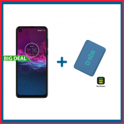 Motorola One Action 128GB + Powerbank Compatto da 4000 mAh